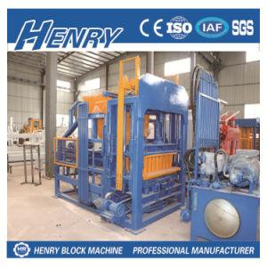 Qt4-15 Automatic Block Production Line Concrete Block Forming Machine pictures & photos