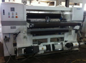 Plastic Film BOPP Tape and Paper Slitting Machine pictures & photos