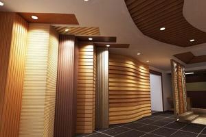 Imitated Wooden Penels/PVC Wooden Ceiling Roof/Composite Plastic Board pictures & photos
