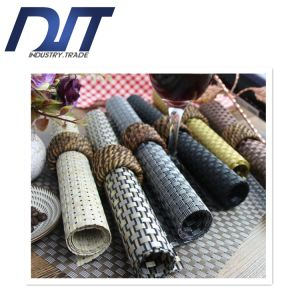 8*8 Thicker SGS Approved Weaving PVC Placemat for Hotel pictures & photos