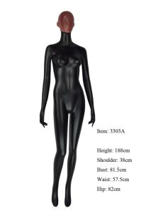 2014 Female Mannequin Glossy Black Manikin pictures & photos