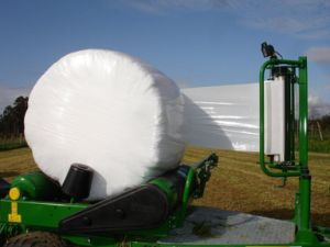Power Silage Film/Silage Stretch Film/Silage Wrap, Width 250mm/500mm/750mm Thickness 25um, White, Black and Green as Your Opitional pictures & photos