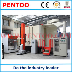 Customized Powder Coating Booth for Painting Cylinder pictures & photos