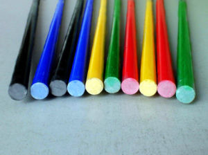Solid Fiberglass Rod, Solid FRP Bar, Fiberglass FRP Solid Rod pictures & photos