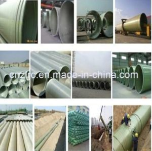 FRP GRP Fiberglass Composite Pressure Epoxy Resin Water and Oil Pipes Zlrc pictures & photos