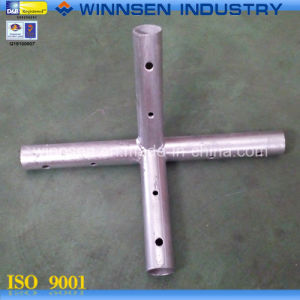 Tent Fitting Galvanized 4-Way Fitting Ys45088