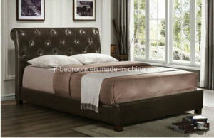 American Style PU Bed Vb-18 pictures & photos