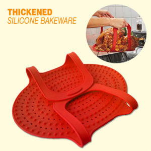 Silicon Bakeware, Oven Safe Silicone Roast Turkey Lifter, Kitchen Bakeware pictures & photos