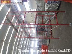 Concrete Formwork Support Steel Mason Ladder Frame Scaffolding pictures & photos