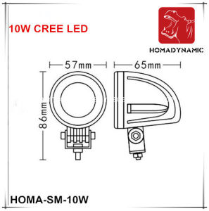 2 Inch 10W LED Work Light LED off Road Light LED Driving Light pictures & photos