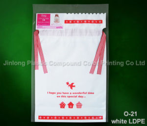 Custom Printed Plastic Shopping Carrier Bag, Gift Handle Bag, Cosmetic/Make up Drawstring Pouch pictures & photos