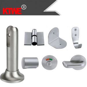 Zinc Stainless Steel Toilet Partition Systems (KTW08-041)