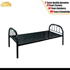 Metal Single Bed/Steel Bed/Home Office Hospital Bedroom School Furniture pictures & photos
