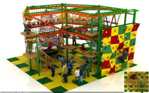 New Design Rope Course Indoor Playground Equipment pictures & photos