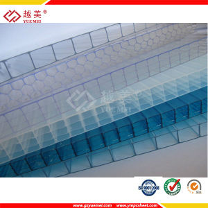 Lightweight Double Wall Polycarbonate Sheet/Multiwall Poly Carbonate Sheets pictures & photos