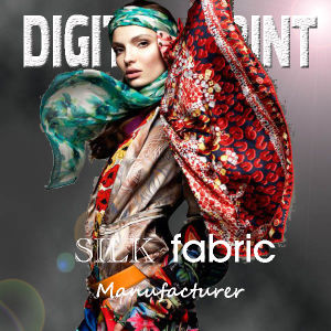Fashion Silk Knitting Digital Printing (X1016) pictures & photos