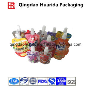 Spout Packaging Pouches for Drinking with Colorful Printing pictures & photos