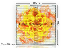 P6mm Transparent LED Display for Glass Window Advertising pictures & photos