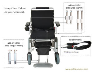 Power Wheelchair, 1 Second Folding, Lightweight, Easy Portable pictures & photos