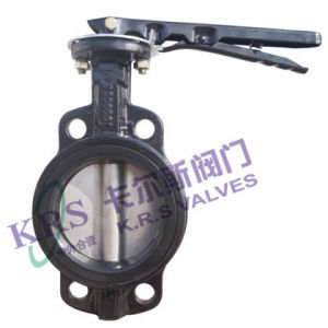 Without Pin Wafer Soft Sealing Butterfly Valve (WD71X-10) pictures & photos