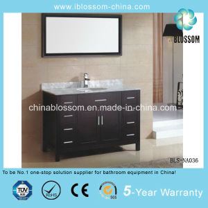 Hangzhou Sanitary Ware Bathroom Vanity Floor Mounted Bathroom Cabinet (BLS-NA036) pictures & photos