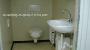 Prefab Washroom Built of Flat Pack Container (shs-fp-sanitory010) pictures & photos