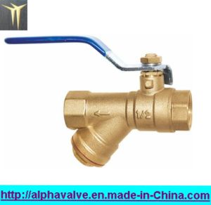 Lever Handle Brass Y Strainer with Ball Valve (a. 0133) pictures & photos