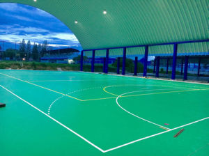 Outdoor Professional Badminton, Basketball, Tennis Sport Flooring with Cheap Price pictures & photos