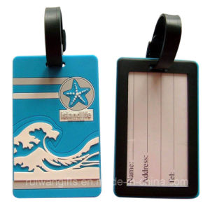 Bank PVC Travel Bag Tag (LT010) pictures & photos