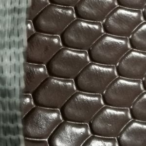 PVC Leather of Diamond Pattern Luggage Bags pictures & photos
