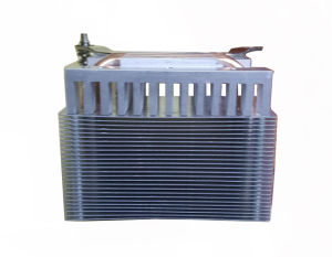 Aluminum Profile Based Radiator with Copper Sintered Heat Pipes pictures & photos