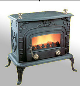 Wood Burning Stove, Cast Iron Stove (FIXL018) pictures & photos