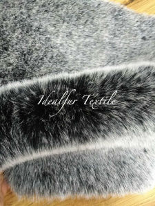 High Quality Imitation Tricot Discharge Fur /Artificial Fox Fur pictures & photos