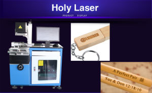 CO2 Laser Marking Machine for Bamboo HSCO2-60W pictures & photos
