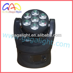 New 7 X 12W CREE 4 in 1 LED Beam Moving Head Light with Umlimited Rotation pictures & photos