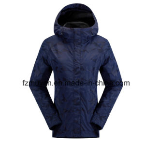 Soft Shell Women Waterproof Jackets pictures & photos