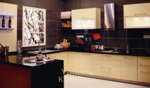 Baked Paint Kitchen Cabinet (M-L87) pictures & photos