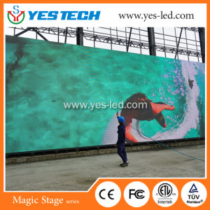 Energy Saving P4.8mm Outdoor/ Indoor Full Color LED Video Wall pictures & photos