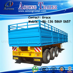 Cargo Semi Trailer, Side Board Semitrailer, Side Boards Flatbed Semi Trailer, Flatbed with Side Wall, Open Side Board Cargo Semi Trailer, Sidewall Semi Trailer pictures & photos