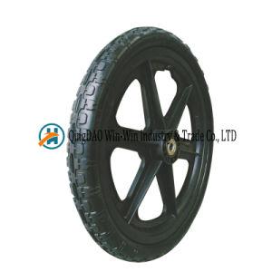 16*1.75 PU Foam Wheel for Balanced Cart Wheel pictures & photos