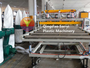 WPC Crust Foam Board Extrusion Line/WPC Machine pictures & photos
