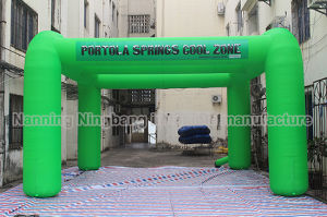 Green Popular Inflatable Misting Station Tent for Advertising/ Best Sale Inflatable Tent