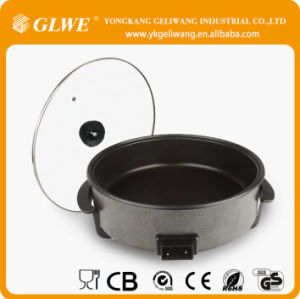 42* 7cm Depth Electric Fonction Non-Stick Round Pizza Pan 1500W CE/GS Online China