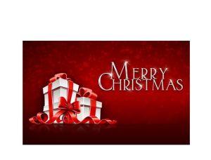 Custmer A4 Mini New Year Greeting Card/Christmas Greeting Card Printing