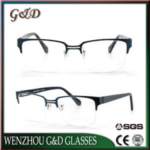 New Design Stainless Spectacle Frame Optical Frame for Man 46-064 pictures & photos