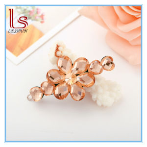 Fashion Hair Accessories Austria Crystal Flower Hairpins pictures & photos
