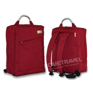 Stylish Backpack/Briefcase with Aluminum Tube Handle pictures & photos
