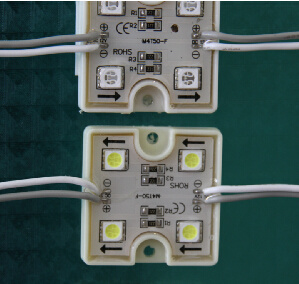 Hot Sale 5050 RGB Waterproof 3 LEDs LED Module pictures & photos