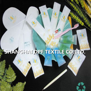 Shanghai DPF Textile Hotels Room Amenities Triple Teeth Set pictures & photos