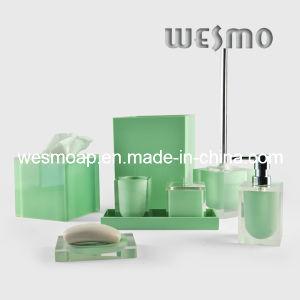 Transparent Polyresin Bathroom Set (WBP0202B) pictures & photos
